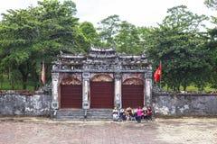Gravvalv av Minh Mang King i ton, Vietnam Royaltyfri Bild