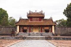 Gravvalv av Minh Mang King i ton, Vietnam Royaltyfria Bilder
