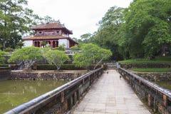 Gravvalv av Minh Mang King i ton, Vietnam Royaltyfri Foto