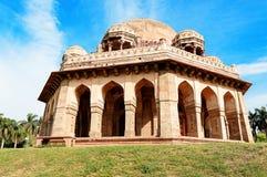 Gravvalv av Mohammed Shah, Lodhi trädgårdar, New Delhi Royaltyfria Bilder