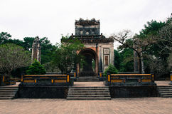 Gravvalv av Nguyen Emperor Tu Duc Arkivfoto