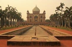 Gravvalv av Safdarjung, New Delhi Arkivbilder