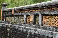 Gravvalv av Tu Duc i Vietnam Arkivfoto