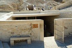 Gravvalv av Tutankhamon Valey av konungar Luxor egypt Fotografering för Bildbyråer