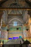 Gravvalv för Sufi ` s på det Mevlana museet i Konya, Turkiet Arkivbilder