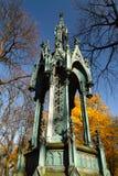 Gravvalv kyrkogård Powazki Arkivbilder