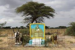 Gravvalv stora Rift Valley, Etiopien, Afrika Royaltyfri Bild