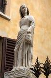 Gravvalvet av Cansignorio, en av fem gotiska Scaliger gravvalv eller Arche Scaligeri, i Verona Royaltyfria Bilder