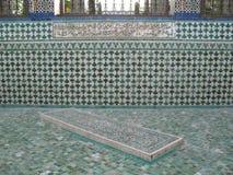 Gravvalvet av den Paris moskén Royaltyfri Fotografi