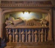 Gravvalvet av Sir Walter de Dunstanville Fotografering för Bildbyråer