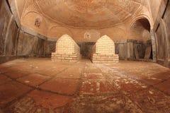 Gravvalvet i den Aksaray mausoleet i den Samarkand staden, Uzbekistan arkivbild