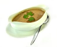 Gravy bowl Stock Image