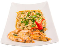 Gravy Char Kway Teow  II Royalty Free Stock Photo