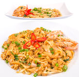 Gravy and Fried Char Kway Teow  III Royalty Free Stock Image