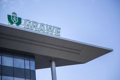 Grawe companBELGRADE, SERBIA Stock Photo