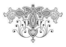 grawerując ornament Obrazy Stock