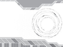 Gray abstract background. Vector illustration Stock Image