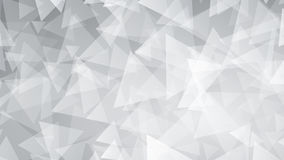 Gray abstract background of small triangles. Abstract background of small triangles in gray colors Royalty Free Stock Photography