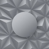 Gray abstract background vector. Stock Photos