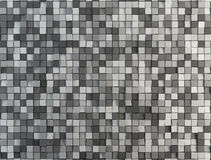 Gray abstract cubes Royalty Free Stock Photos