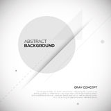 Gray abstract 3D background. Geometric design Royalty Free Stock Photography