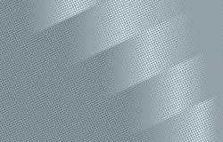 Gray Abstract Halftone Cover Design futurista Ilustración del Vector