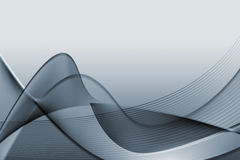 Gray abstract illustration Stock Image