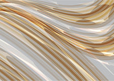 Gray abstract line wave background vector Royalty Free Stock Images
