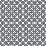 Gray abstract objects on a light background seamless pattern Royalty Free Stock Photography