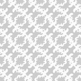 Gray abstract objects on a white background seamless pattern vector illustration Stock Images