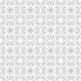 Gray abstract objects on a white background seamless pattern vector illustration Stock Photos