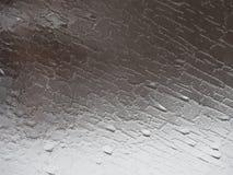 Gray Abstract Pattern de Frosty Window fotos de stock