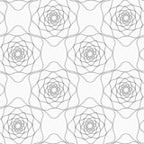 Gray abstract roses Royalty Free Stock Images