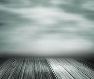 Gray Abstract Stage Background stock de ilustración