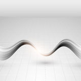 Gray abstract technology background Stock Photos