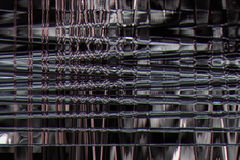 Gray abstract texture glitch background. Digital wave Stock Photos