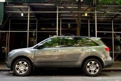Gray Acura 2007-2010 MDX fotografie stock libere da diritti