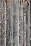 Gray aged wooden boards background Stock Image