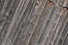 Gray aged wooden boards background Stock Photo