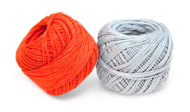 Gray ang orange string Royalty Free Stock Image