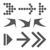 Gray Arrows illustration de vecteur