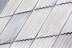 Gray asbestos roof Royalty Free Stock Photography