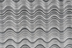 Gray asbestos tiles Stock Photography