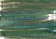 Gray-asparagus abstract watercolor background. Hand-drawn abstract watercolor. Used colors: Gray-asparagus, Axolotl, Rifle green, Deep moss green, Feldgrau Royalty Free Stock Photos