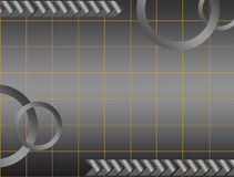 Gray backgroud. Gray background  with circles  and mesh. abstract illustration Royalty Free Stock Images