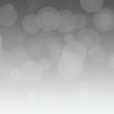 Gray Backgroud con i cerchi Fotografie Stock Libere da Diritti