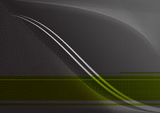 Gray Background. Abstract illustration for use as a background Royalty Free Stock Photography