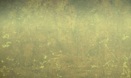 Gray Background amarillento con vieja textura de papel Fotos de archivo libres de regalías