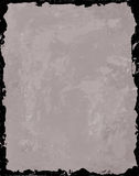 Gray Background with Black Frame. This is a gray acrylic background with a black grunge frame Royalty Free Stock Image
