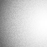 Gray Background claro circular abstrato Fotografia de Stock